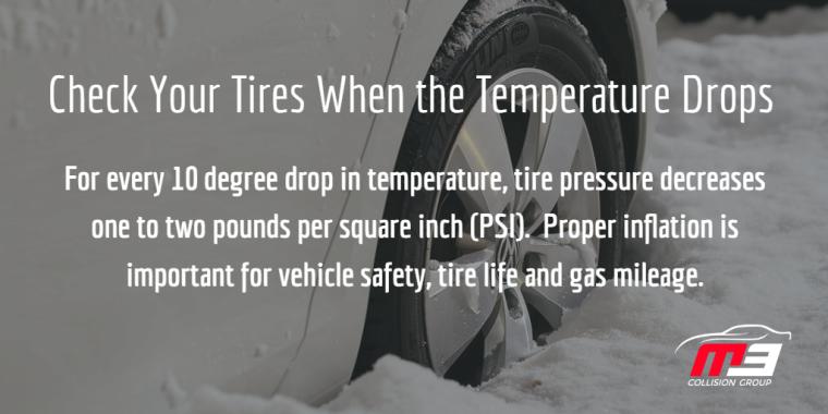 Tire Pressure in Cold Weather